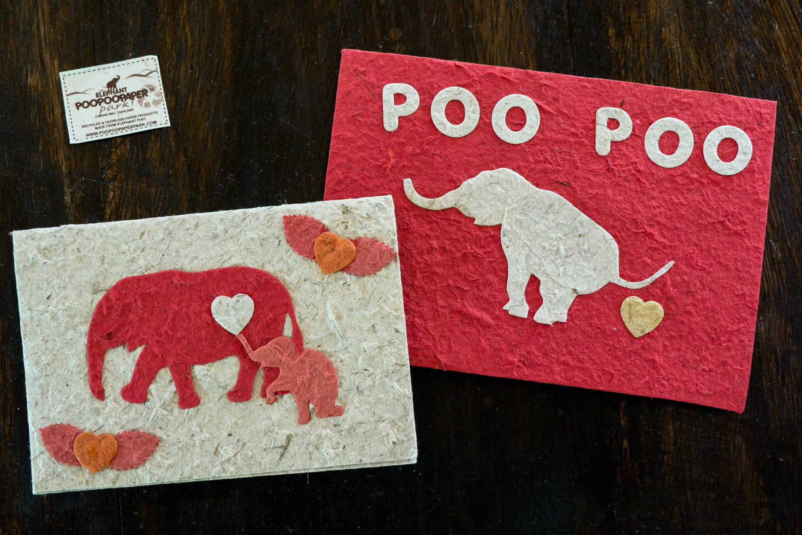 elephant poo paper making